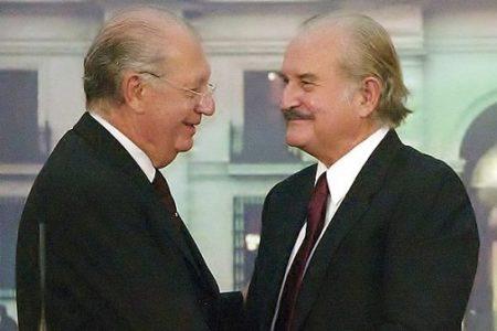 El siglo que despierta, Carlos Fuentes y Ricardo Lagos