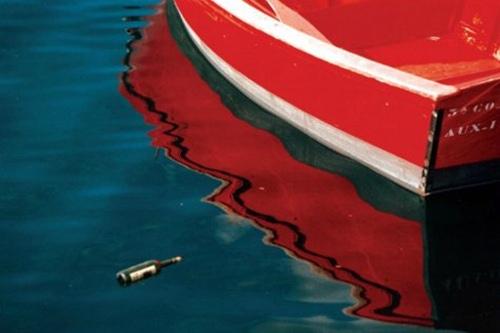 Barcos sobre el agua natal