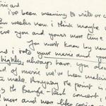 Cartas manuscritas de personajes históricos a la venta