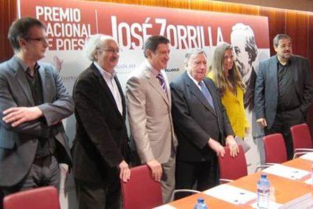 Jorge de Arco, Premio Nacional de Poesía José Zorrilla