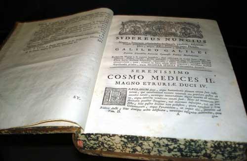 Mensajero Sideral Galileo