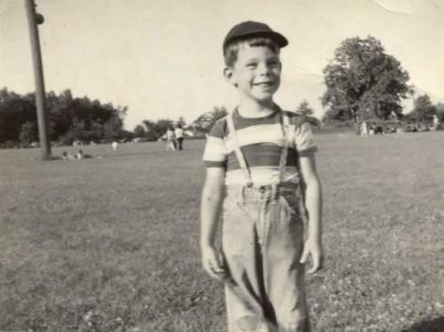 Stephen King de niño