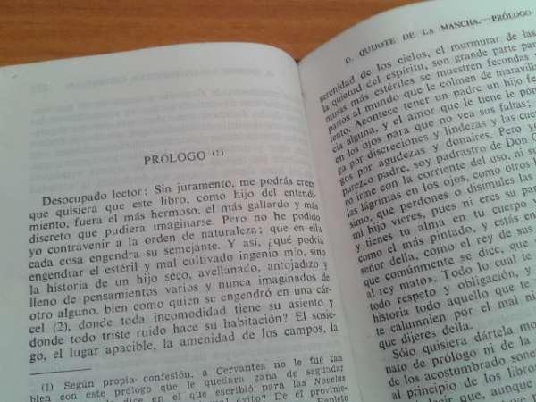 Prologo de Cervantes