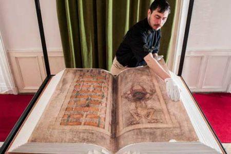Codex Gigas, el gran manuscrito medieval